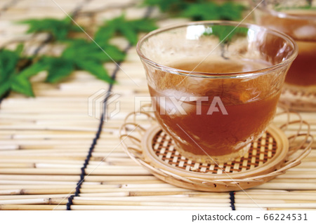 Delicious barley tea in summer 66224531