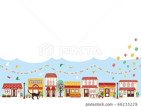 繁忙的城市景觀 66233229