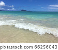 凱盧阿海灘在陽光燦爛的夏天 66256043