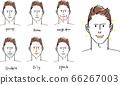 남성 트러블 피부 66267003