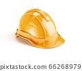 Yellow orange safety helmet 66268979
