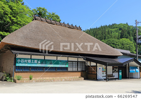 나가노 현 초가 지붕 간식 마을 향토 관 66269547