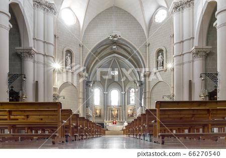 Interior view of a church 66270540
