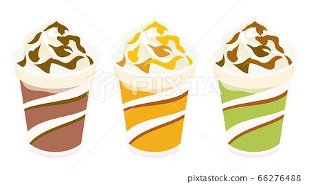 搖動咖啡,巧克力,焦糖和抹茶 66276488