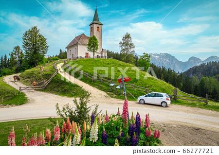 Cute Sveti Duh church on hill, Kamnik - Savinja 66277721