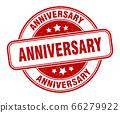 anniversary stamp. anniversary round grunge sign. 66279922