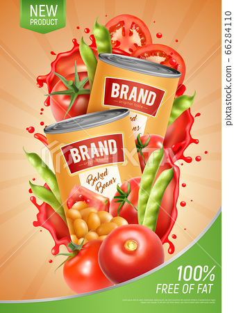 Baked Beans Poster 66284110