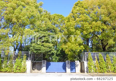 The main gate of the Takanawa Imperial Family Residence (Sento Temporary Palace/Former Takamatsu Palace Residence) 66287125