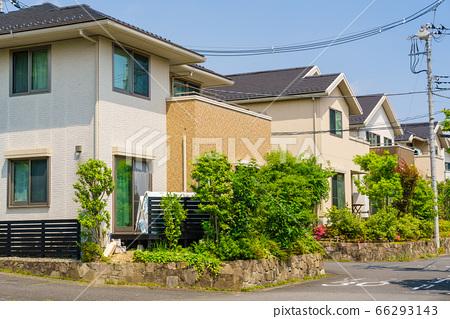 녹색을 소중히하는 새로운 집 66293143
