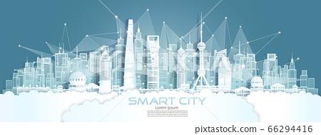 Technology wireless network communication smart 66294416