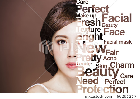 young beauty and Plastic surgery, skin lifting, 66295257
