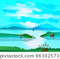 Beautiful landscape environment nature 66302573