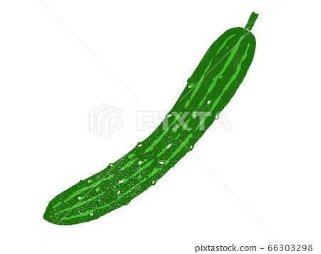 黃瓜的例證 66303298