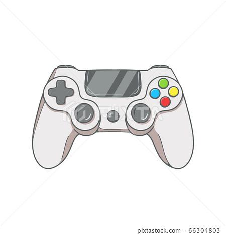 Retro Gaming controller. vector illustration 66304803