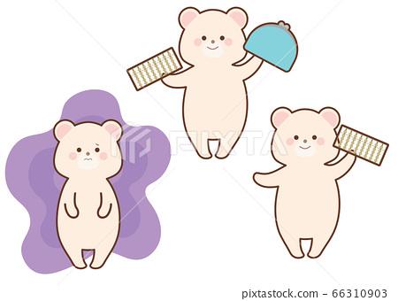 北極熊圖設置白熊與擔心Soroban白熊線財務管理 66310903