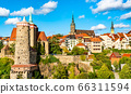 View of Bautzen town in Germany 66311594