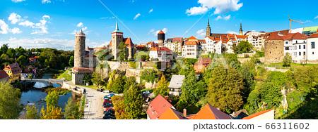 View of Bautzen town in Germany 66311602