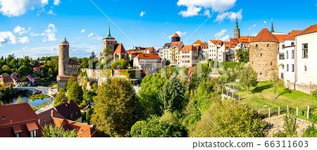 View of Bautzen town in Germany 66311603
