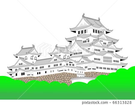 Himeji castle Tensui 66313828