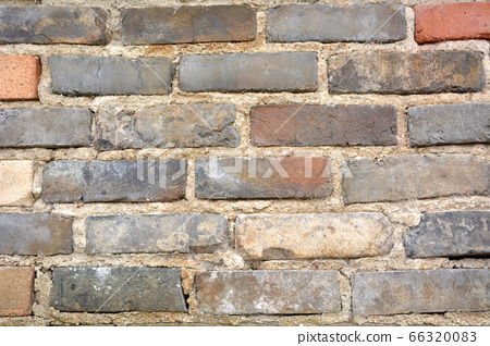 낡은 벽돌 66320083