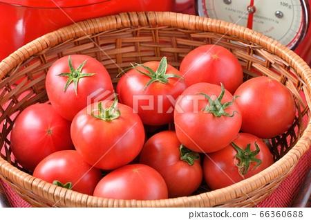빨간 부엌, 요리, 요리 이미지, 과일 토마토, 냄비, 주방 저울. 66360688