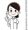 Checkpoint, nurse, woman 66363463