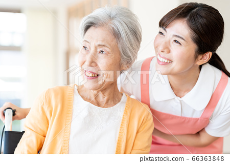 Nursing Women Hospital Helper Caregiver Senior 66363848