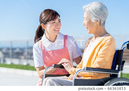 Nursing Women Hospital Helper Caregiver Senior 66363853