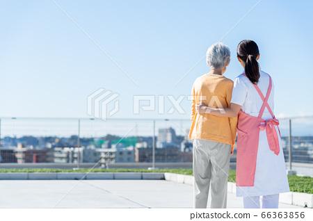 간호 여성 병원 도우미 간병인 수석 66363856