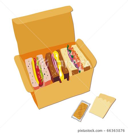 外賣三明治 66363876