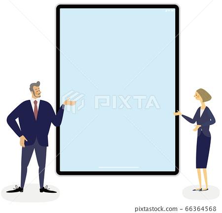 平板電腦和人業務 66364568