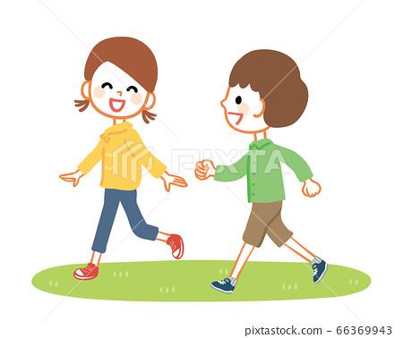 孩子們在外面玩得開心 66369943