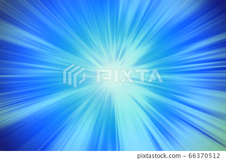 blue blur power zooming effect illustration 66370512