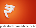 INR Indian Rupee India Bhutan Currency Sign for 66370532
