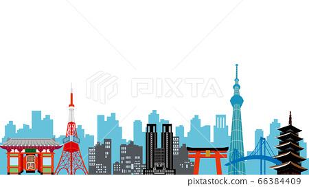 東京建築物的插圖 66384409