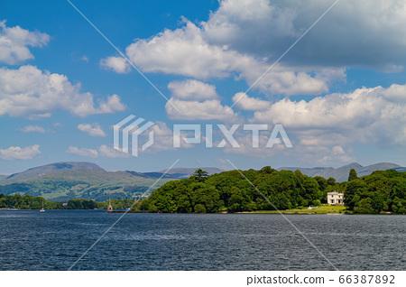 Beautiful nature landscape around Lake Windermere 66387892