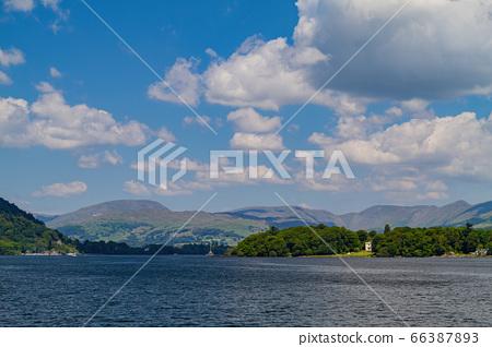 Beautiful nature landscape around Lake Windermere 66387893