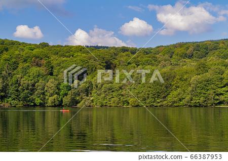 Beautiful nature landscape around Lake Windermere 66387953