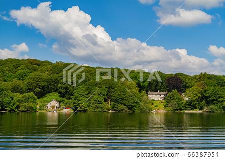 Beautiful nature landscape around Lake Windermere 66387954