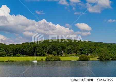 Beautiful nature landscape around Lake Windermere 66387955