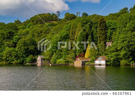 Beautiful nature landscape around Lake Windermere 66387961