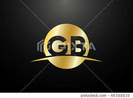 Initial Monogram Letter GB Logo Design Vector Template. GB Letter Logo Design 66388810