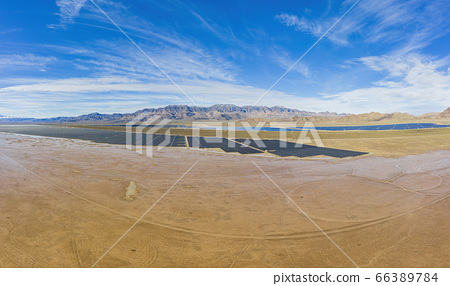 Aerial view of Nevada Solar One 66389784