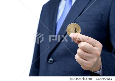 商人控股比特幣 66395483