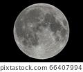 보름달의 현실적인 달 요철 평면 : NASA 제공 소재로 만든, 3DCG 66407994