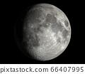 조금 부족한 현실적인 달 : NASA 제공 소재로 만든, 3DCG 66407995