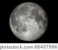 보름달의 현실적인 달 : NASA 제공 소재로 만든, 3DCG 66407996