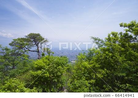 효고현 니시 노미야시의 관음산의 가베노 성 66414941