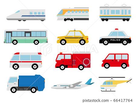 各種車輛圖標 66417764