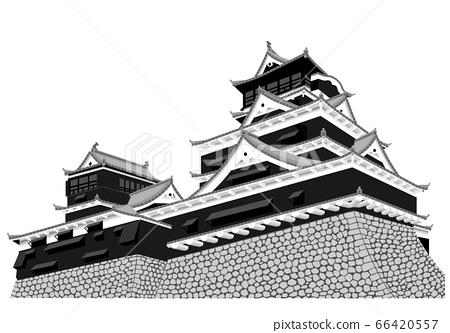 Kumamoto Castle Tenshi 66420557